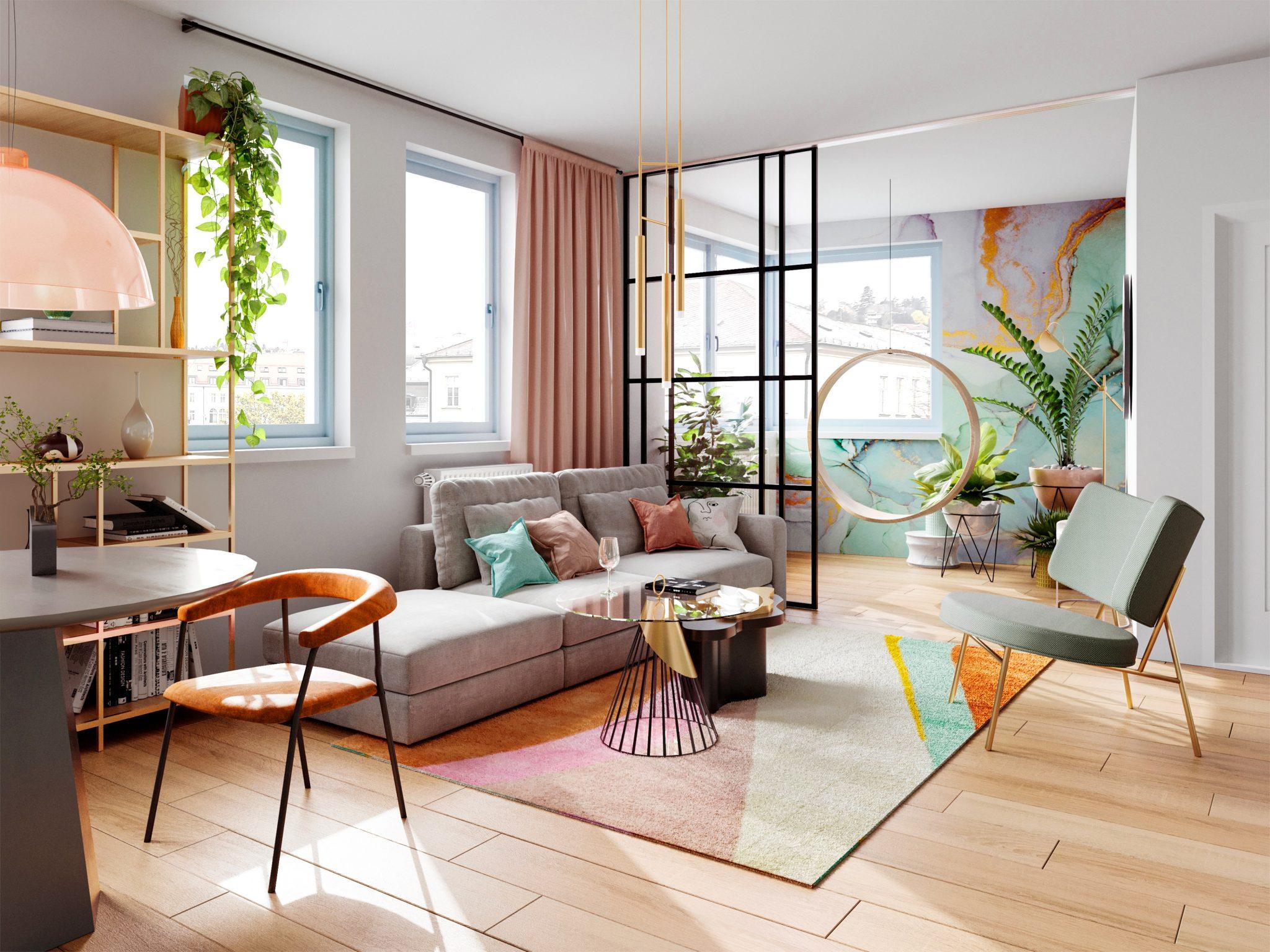2,5 izbový apartmán s loggiou v absolútnom centre Bratislavy, skvelá investícia